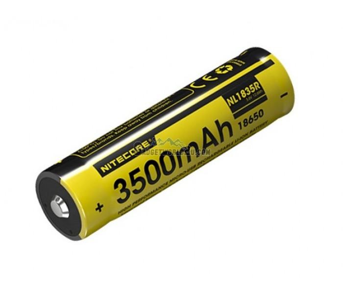 Nitecore 18650 3500mah Usb Rechargeable Li Ion Battery Nl1835r