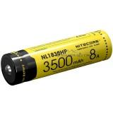 Nitecore 18650 3500mAh Li-ion Rechargeable Battery NL1835HP