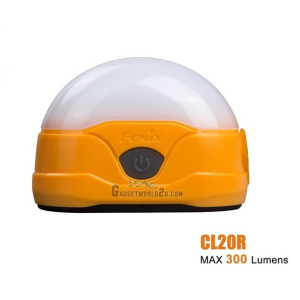 Fenix CL20R Neutral White Rechargeable Lantern - Orange