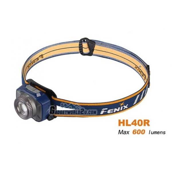 Fenix HL40R Rechargeable CREE XP-L HI LED Headlamp - Blue