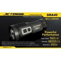 Jetbeam SRA40 CREE XM-L2 LED Flashlight