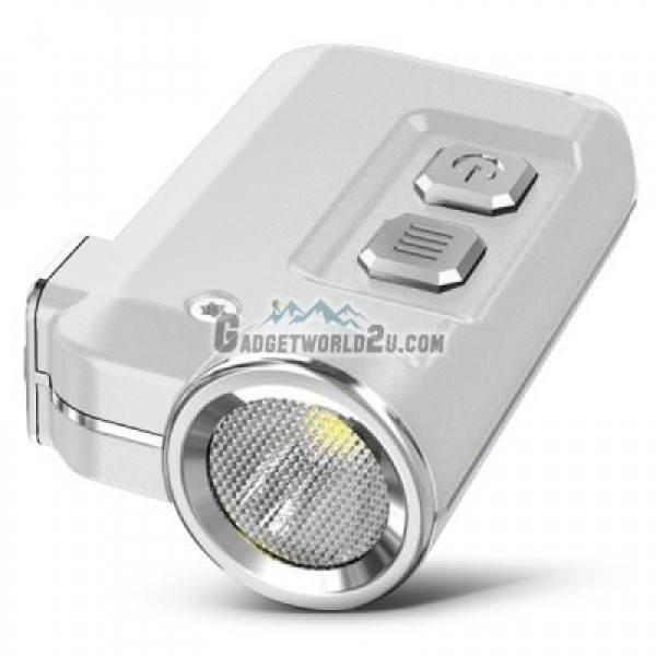 Nitecore TINI 380L Keychain Recharge Flashlight - Silver
