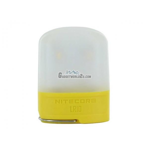 Nitecore LR10 250 Lumen USB Rechargeable Lantern - Yellow