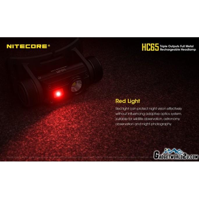 Nitecore HC65 1000L CREE LED Rechargeable Headlamp