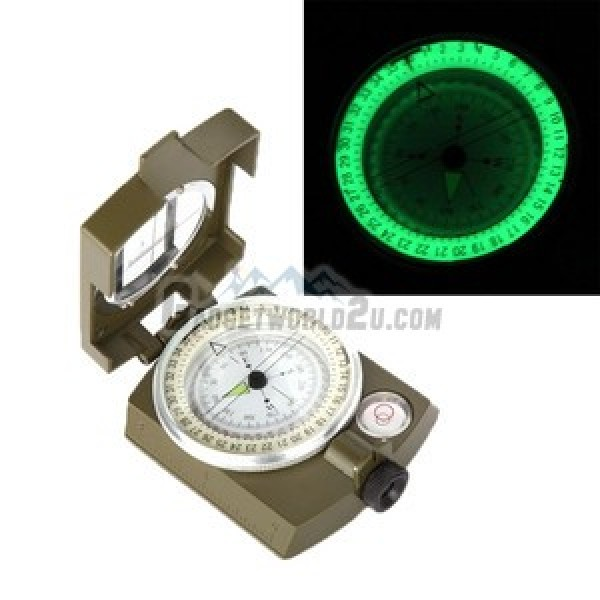Metal Casing Quality Prismatic Lensatic Compass