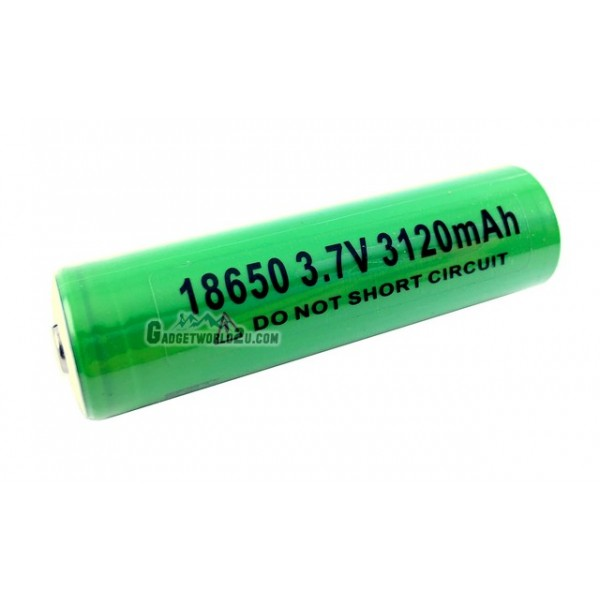 Sony VTC6 UnProtected 18650 3120mAh 3.7V Li-ion Rechargeable Battery Button Top