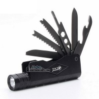 Rechargeable Flashlight with Multitool Knife Saw (MX-806-NT)