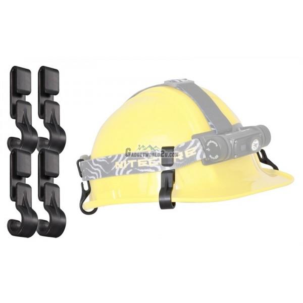Nitecore 4pcs Helmet Clips NHC10