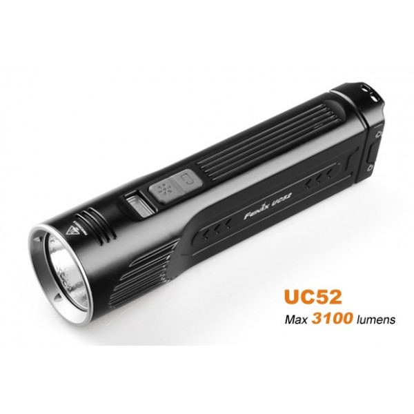 Fenix UC52 Rechargeable 3100L CREE XHP70 LED Flashlight