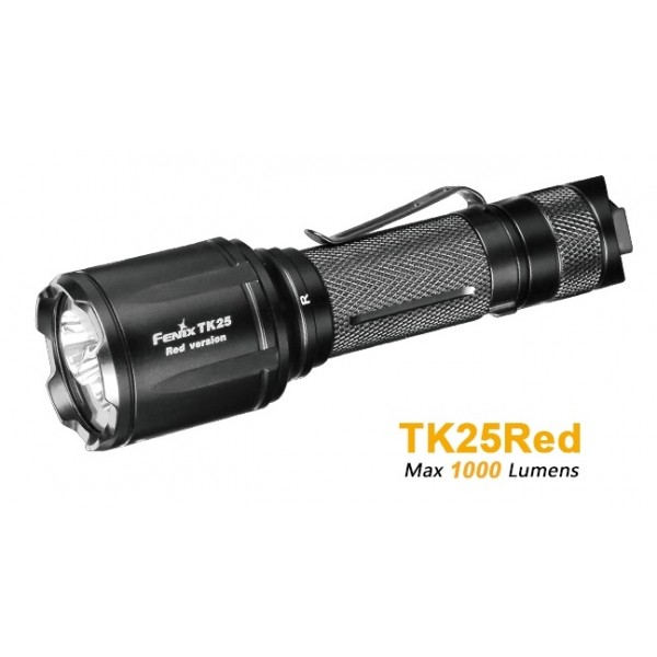 Fenix TK25 Red 1000L CREE XP-G2 S3 LED Flashlight