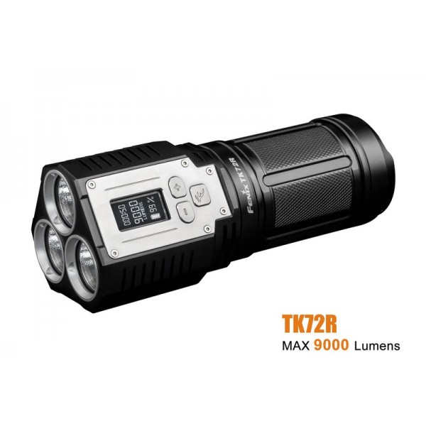 Fenix TK72R 3xCREE XHP70 LED 9000L Flashlight
