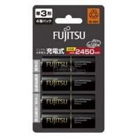 Fujitsu AA x4 2550mAh NiMH 500 Cycle Rechargeable Battery Japan