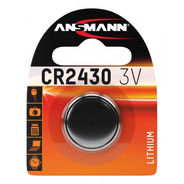 Ansmann CR2430 Lithium 3.0V Battery