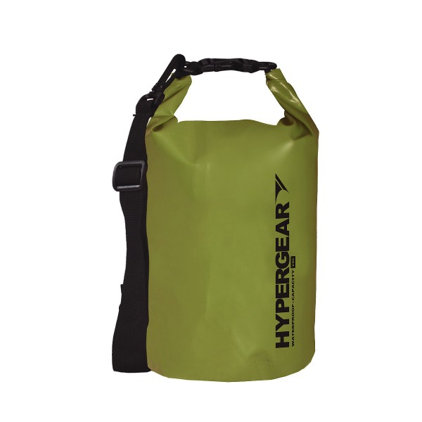Hypergear Adventure Dry Bag Water Resistant 10 Liter - Army Green
