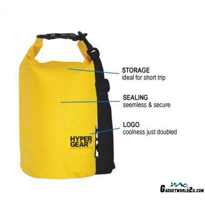 Hypergear Adventure Dry Bag Water Resistant 10 Liter - Light Blue