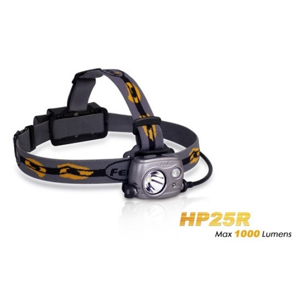 Fenix HP25R CREE XM-L2 U2 Rechargeable 1000 Lumens Headlamp