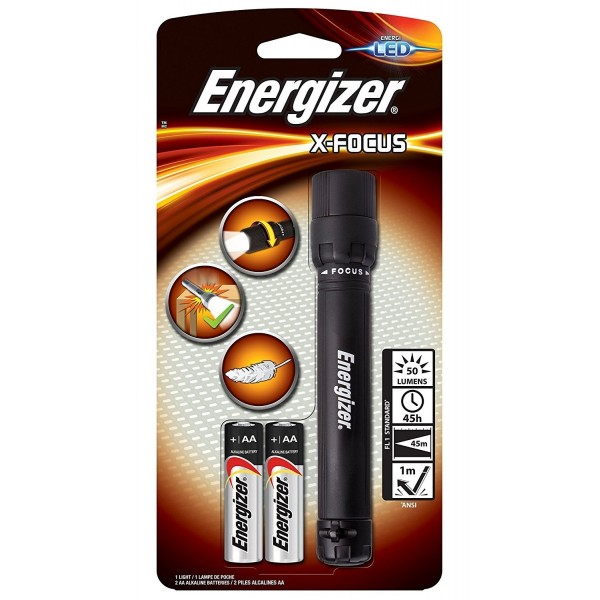 Energizer LED X-Focus Light 50L LED Flashlight XFH21