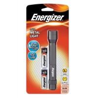 Energizer LED Metal Light 2AA 60L LED Flashlight LCM2AA
