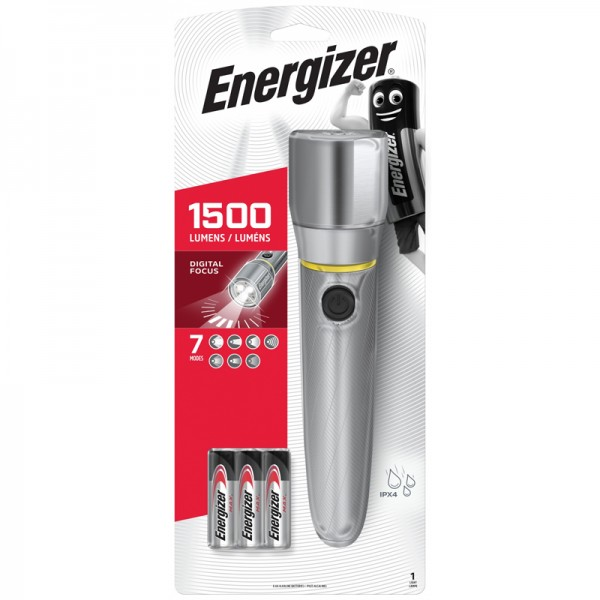 Energizer Vision HD Ultra 6AA 1500L LED Flashlight PMZH611