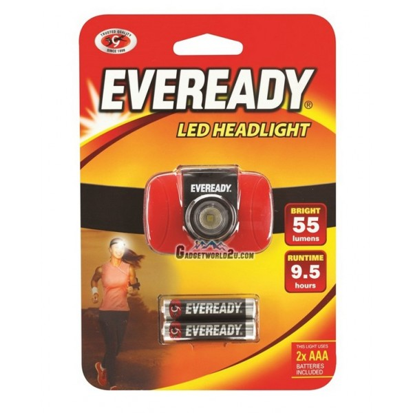 Eveready LED Headlight 55L Headlamp HDV22