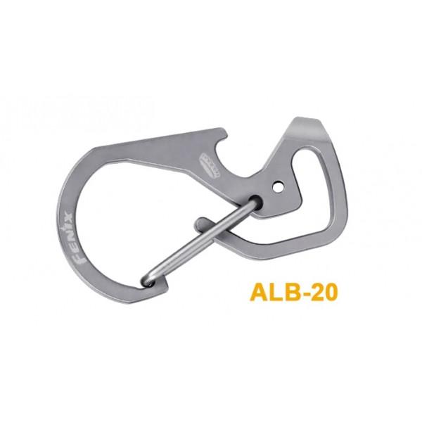 Fenix ALB-20 Titanium Multi-Purpose Snap Hook