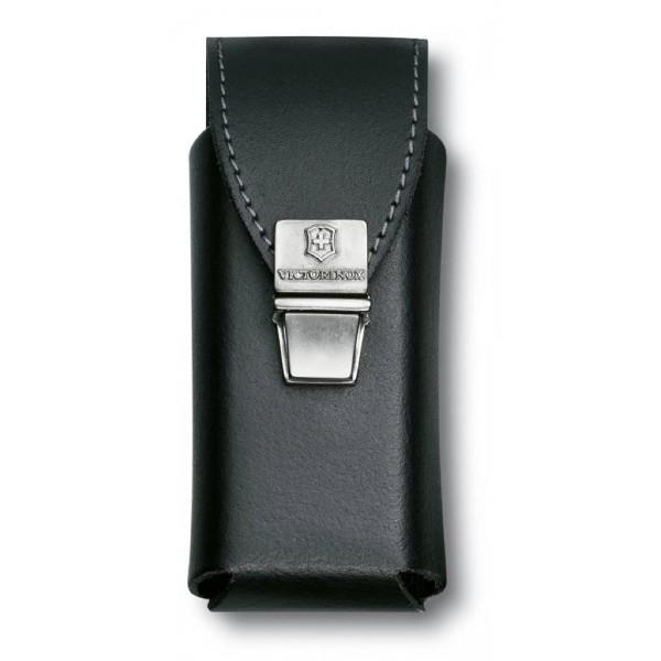 Victorinox Leather Pouch Black 3 Layers/SwissTool 4.0823.L2