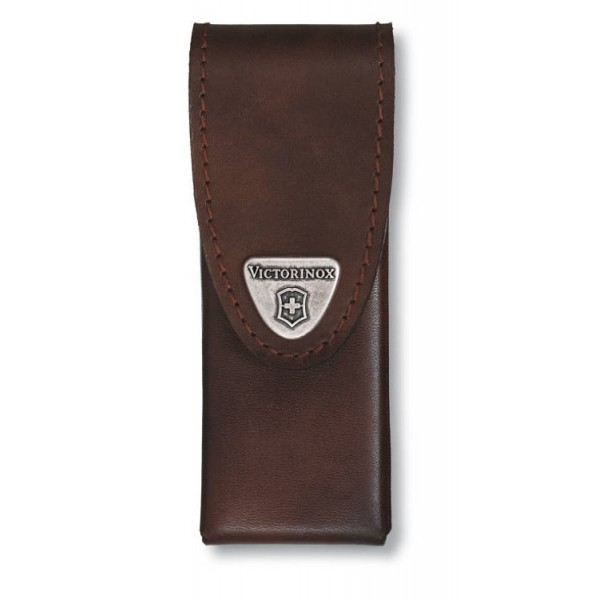 Victorinox Leather Pouch Brown 3 Layers/SwissTool 4.0822.L