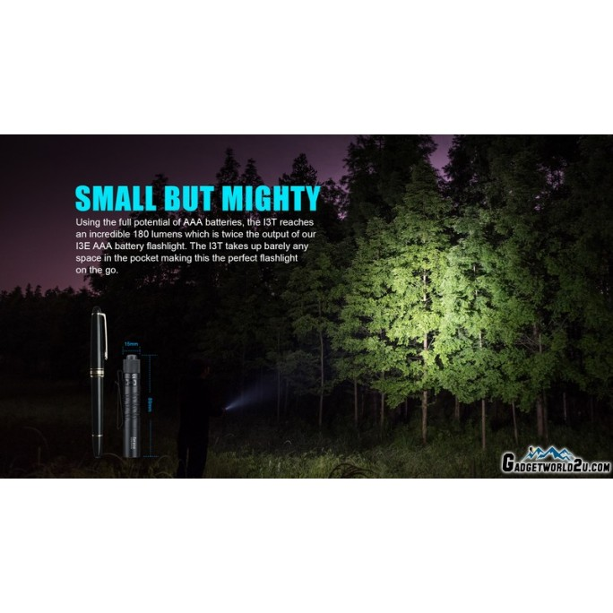 Olight I3T EOS Dual-Output Luxeon TX CW LED 180L Flashlight