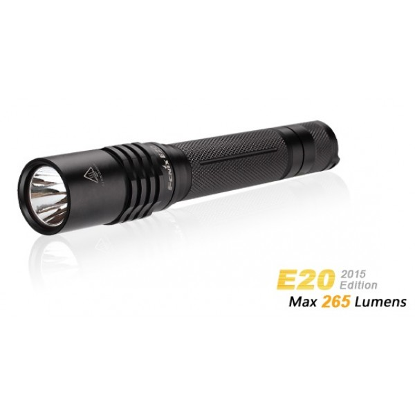 Fenix E20 2015 CREE XP-E2 LED 265 Lumens Flashlight