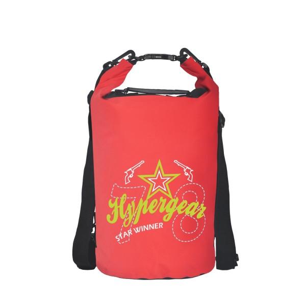 Hypergear Freestyle Dry Bag 20 Liter Star Winner Red