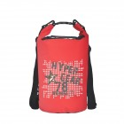 Hypergear Freestyle Dry Bag 20 Liter Warning 78 Red