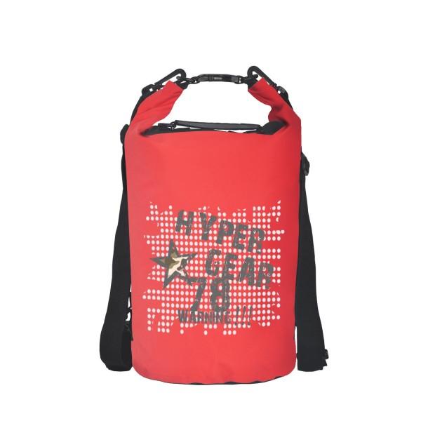 Hypergear Freestyle Dry Bag 20 Liter Warning 78 Red