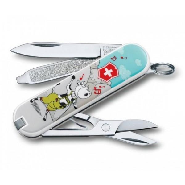 Victorinox Classic SD Yodelya-hee-moo Multitool Pocket Knife 0.6223.L1504