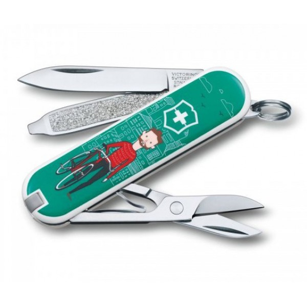 Victorinox Classic SD Ride Your Bike Multitool Pocket Knife 0.6223.L1508
