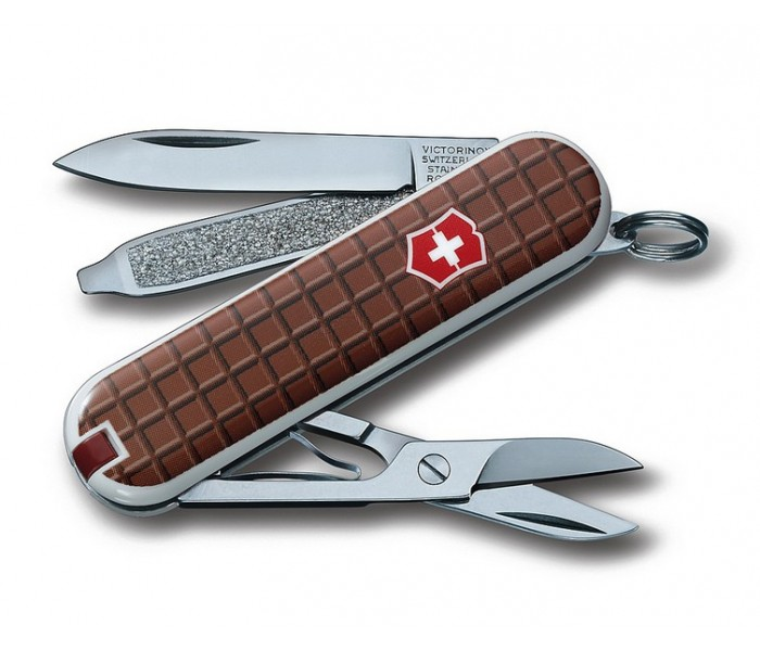 Victorinox Classic Sd Chocolate Multitool Pocket Knife 0