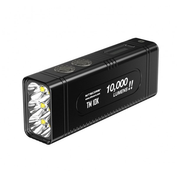 Nitecore TM10K 6x CREE XHP35 HD LED 10000L Rechargable Flashlight