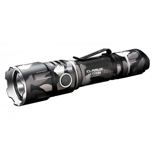 Klarus XT11GT Urban Camo CREE XHP35 HD LED 2000L Rechargeable Flashlight