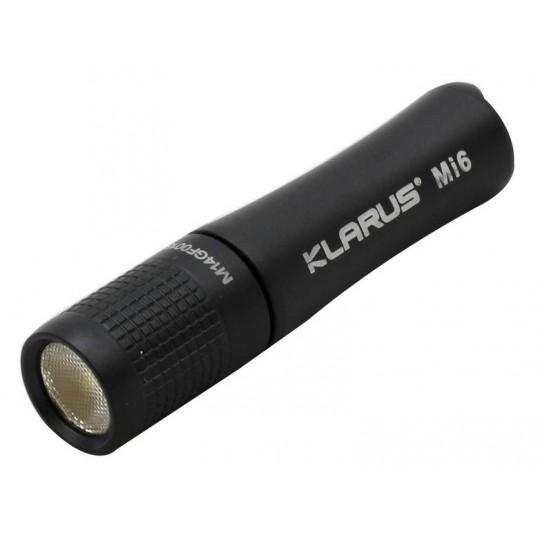 Klarus Mi6 CREE XP-G3 LED 120L Keychain Flashlight Black