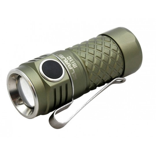 Klarus Mi1C CREE XP-L HI LED 600L Rechargeable Flashlight Olive