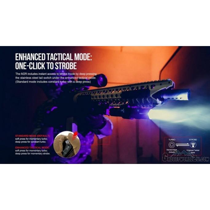 Olight M2R CU Warrior Rechargeable CREE XHP35 CW 1500L LED Flashlight