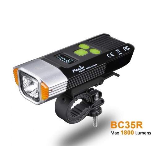 Fenix BC35R CREE XHP50 NW LED 1800L Rechargeable Bicycle Light