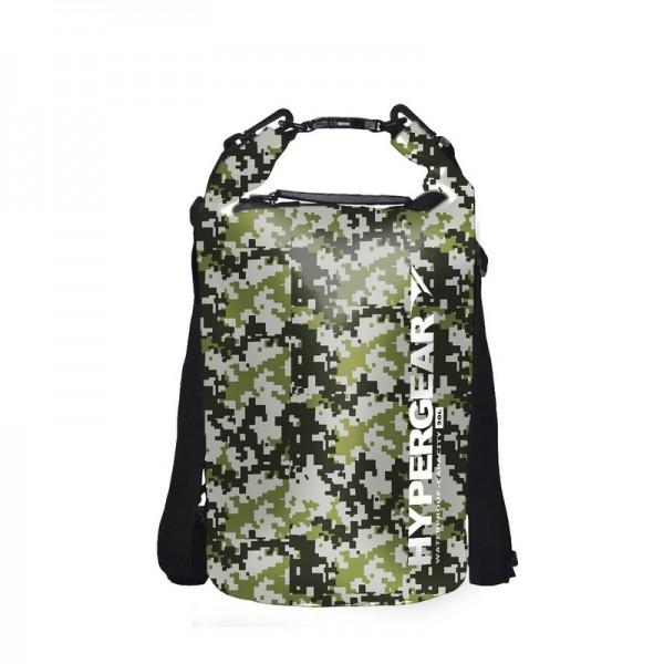Hypergear Dry Bag Camo Water Resistant 20 Liter - Digital Camo