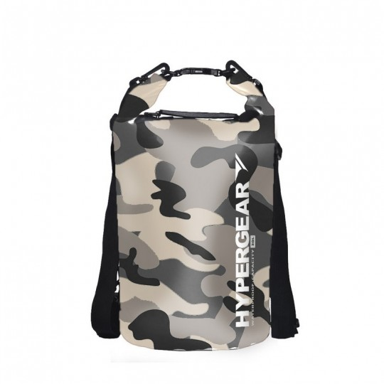 Hypergear Dry Bag Camo Water Resistant 20 Liter - Camo Green Alpha
