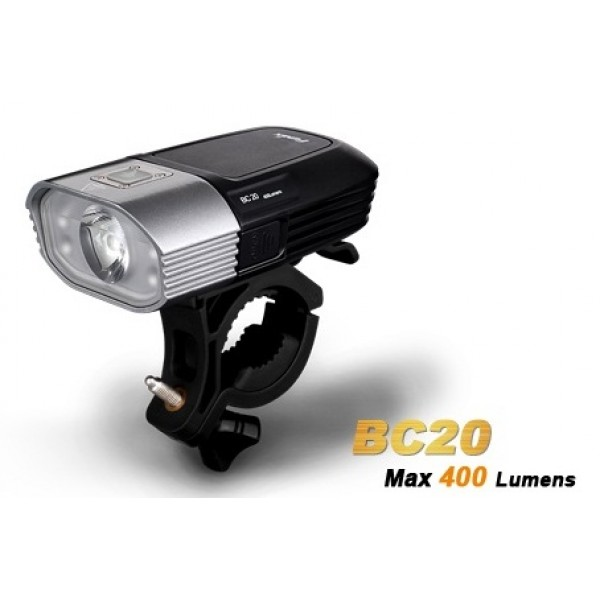 Fenix BC20 CREE XP-G2 Cool White LED 400 Lumens Bicycle Light