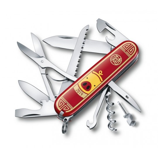 Victorinox Huntsman Year of the Pig 2019 Multitool 1.3714.E8