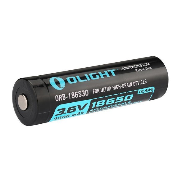 Olight 18650 3000mAh HDC 15A Li-ion Rechargeable Battery