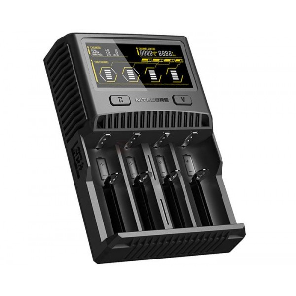 Nitecore SC4 Superb Charger Lithium-ion Li-ion Battery Charger