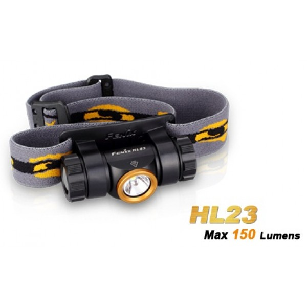 Fenix HL23 CREE XP-G2 R5 LED 150 Lumens Headlamp - Champagne Gold