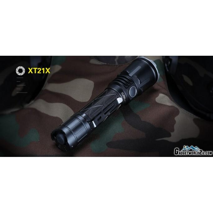 Klarus XT21X CREE XHP70.2 P2 LED 4000L Rechargeable Flashlight