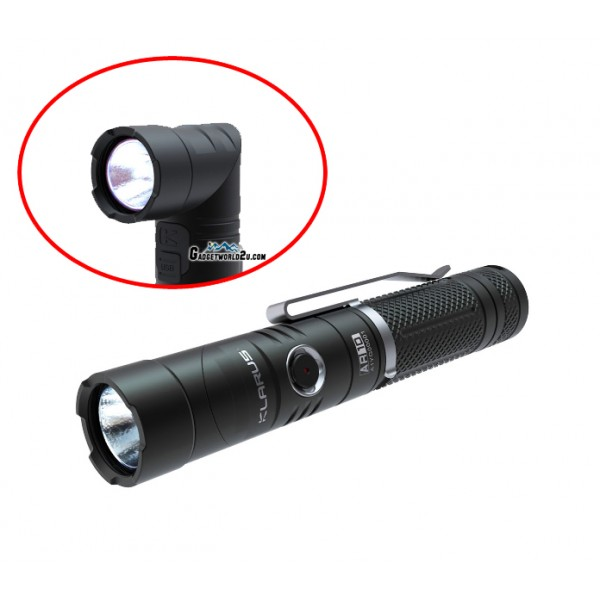Klarus AR10 Angle Light CREE XM-L U2 LED 1080L Rechargeable Flashlight